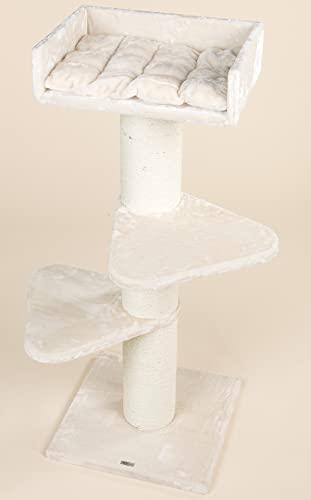Kratzbaum Royalty Creme Weiß - 3