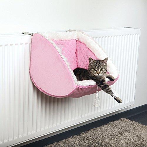 Cat Princess Liegemulde für Heizkörper, rosa