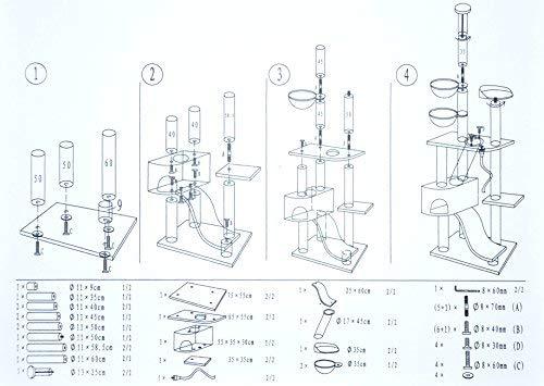nanook Katzen-Kratzbaum, groß XXL deckenhoch - 7
