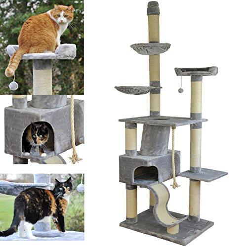 nanook Katzen-Kratzbaum, groß XXL deckenhoch - 8
