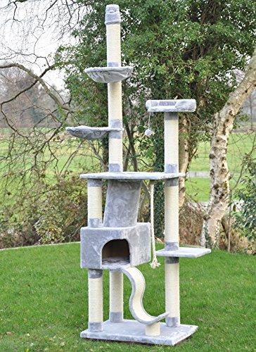 nanook Katzen-Kratzbaum, groß XXL deckenhoch - 9
