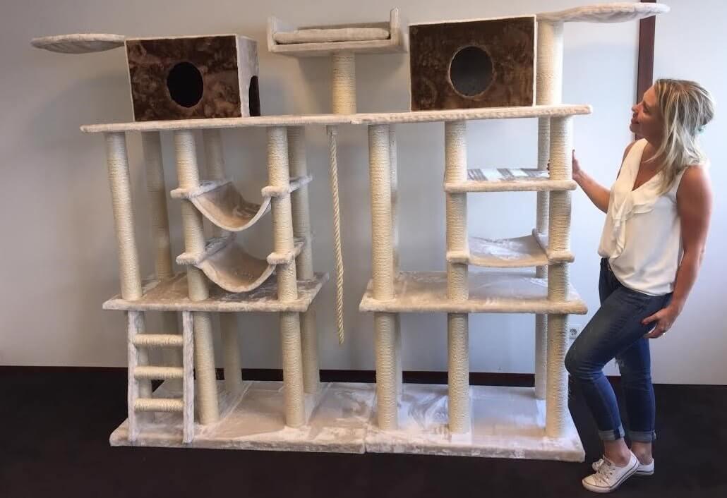 kratzbaum f r gro e katzen xxl ware kratzbaum vergleich 2018. Black Bedroom Furniture Sets. Home Design Ideas