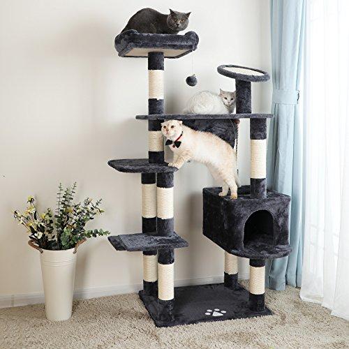 kratzbaum f r gro e katzen xxl ware kratzbaum. Black Bedroom Furniture Sets. Home Design Ideas